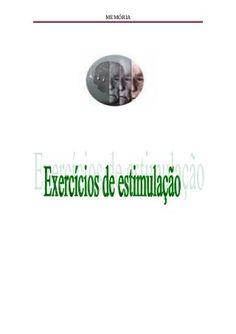 Exercícios de estimulação - Alzheimer