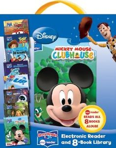Disney Story Reader Me Reader and 8-Book Library: Editors of Publications International: 9781450821865: Amazon.com: Books