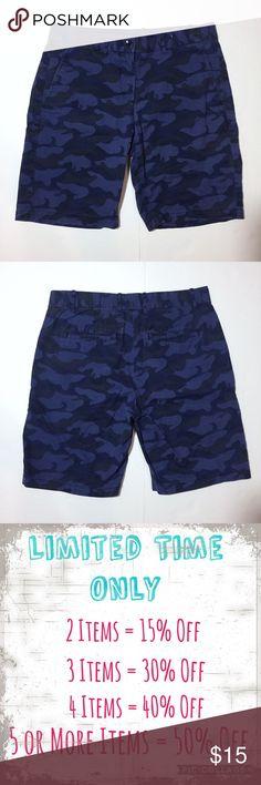 "GAP Purple Camo Khaki Boyfriend Roll Up Shorts GAP Purple Camo Khaki Boyfriend Roll Up Shorts. Size 0 measures flat: 15"" across top, 19"" across hips, 9"" inseam, 18"" long. 100% cotton. 2 flat back pockets are still sewn closed. 716/50/072717 GAP Shorts"
