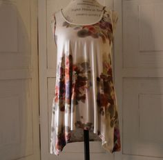 Anthropologie Blouse By Weston Wear Size S Floral Summer Beach Casual Cute