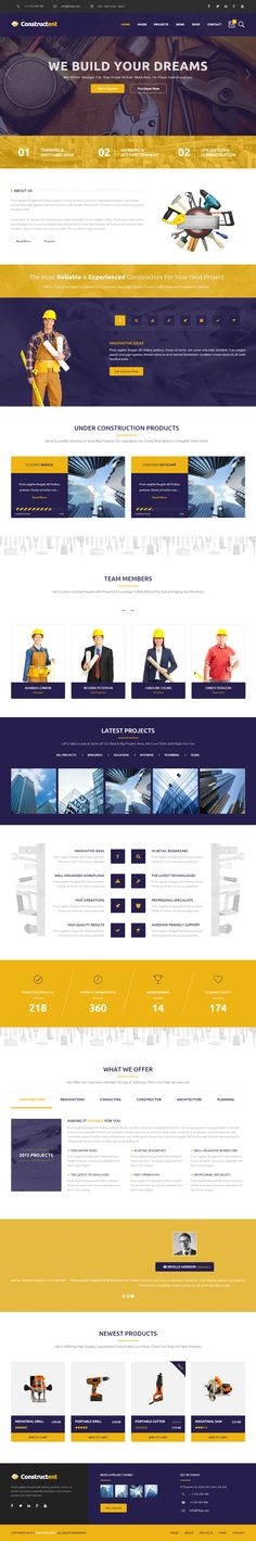 Constructent is Premium Responsive #WordPress #ConstructionCompany Theme. #ParallaxScrolling. WooCommerce. Revolution Slider. Test free demo at: http://www.responsivemiracle.com/cms/constructent-premium-responsive-construction-wordpress-theme/