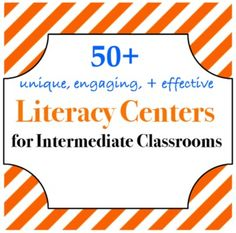 centers for and grades that are effective and easy to implement by lessie Teaching 5th Grade, 5th Grade Reading, 4th Grade Classroom, Teaching Reading, Guided Reading, Teaching Ideas, Classroom Ideas, Reading Stations, Literacy Stations