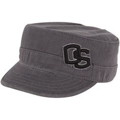 Top of the World Oregon State Beavers Unisex Mystique Adjustable Cadet Hat - Charcoal