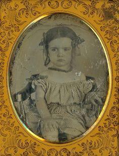 Baby Girl Daguerreotype by Mirror Image Gallery, via Flickr