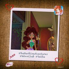 Aisha! #butterflixadventures #WinxClub #Selfie