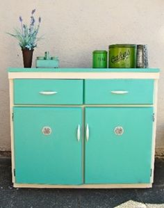 images about Vintage Kitchen Dressers Cabinets on