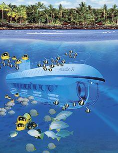Submarine in Hawaii