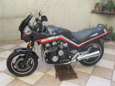 Moto Honda Cbx 750 Ano 1986 Black Japonesa Documentos Ok