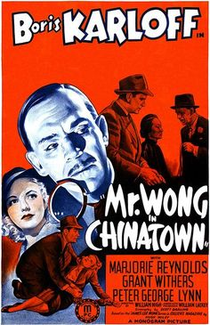 Mr. Wong In Chinatown - 1939 - Movie Poster