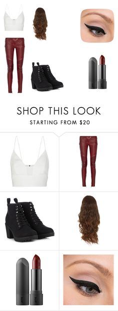 """Danielle-FF ch2"" by lyndseypan ❤ liked on Polyvore featuring Narciso Rodriguez, Balmain, Call it SPRING and LORAC"