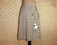 Vintage Handmade Poodle Skirt Retro 50s Halloween by MagpieandOtis