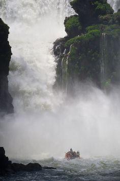 Iguazu Waterfalls, Argentina.  Photo: ©miguel valle de figueiredo via Flickr