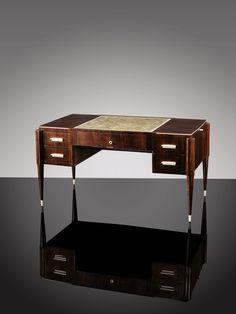 Emile Jacques Ruhlmann, A 'modele du collectionneur' desk by Emile-Jacques Ruhlmann, circa 1925 | Sotheby's Auction