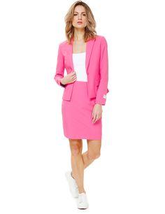 Traje Mrs. Pink mujer Opposuits™  Este traje Opposuits rosa es para mujer e 672cfba4c6de