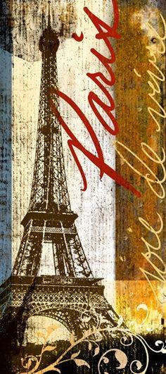 art print Paris, joie de vivre - by Cory Steffen