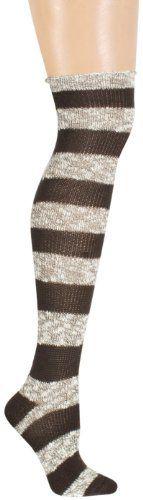 Acrylic And Marled Slub Rugby Striped
