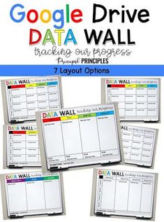 Student Data Folders: Making Learning Visible - Principal Principles Student Data Folders, Student Data Tracking, Data Binders, Student Folder Organization, Student Data Notebooks, School Data Walls, Student Data Walls, Student Goals, Data Boards