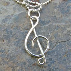 treble necklace