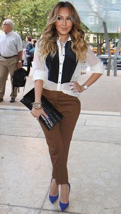 Work it, Adrienne Bailon!
