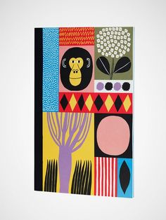 Marimekko Matkoilla A4 Notebook €13.50 @humanempire #notebook #illustration
