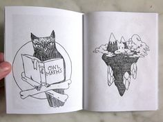 {Various Drawings 2012 Zine} by Deth P Sun