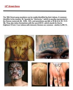 Help with research paper on latino gangs.?