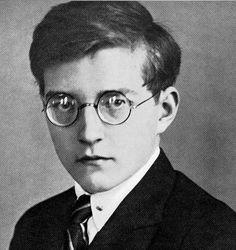 Young Dimitri Shostakovich (age 19)