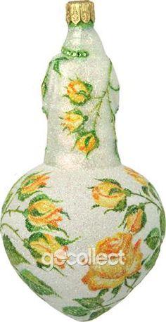 Spearman Santa (Roses) Patricia Breen Designs (Spring, Flowers, Yellow, Green)