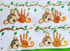 Handprint and footprint artwork ideas for children Artwork Ideas, Footprint, Homeschool, Children, Kids, Foot Prints, Child, Babys, Babies