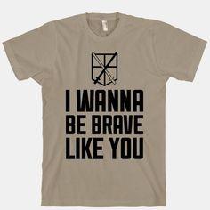 I Wanna Be Brave Like You #nerdy #anime #attackontitan #aot #jaeger #levi #japan #lyrics