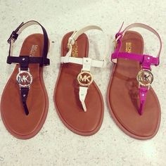 MK sandals. Why not get them all! thegoodbags.com Website For Discount michael kors bags. lowest price