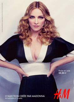 Madonna Ciccone for H&M.