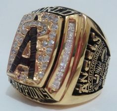 2002 Anaheim Angels Ring
