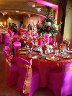 Wedding Setup at Atlantis PI Bahamas By Personal Touch Design Weddings and Rentals