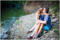 Waterfall, Wichita, Kansas, Couple, Engagement, Photo, Photograph, Love, Marriage, Lifestyle