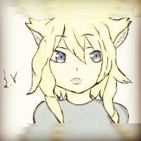 My original character neko girl  by sofiavalvi
