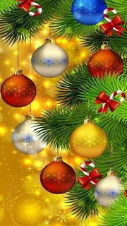 Fantastic Photos Christmas Wallpaper ornaments Strategies Seeing that Holiday techniques, one of the popular factors using most people is usually beautifying Christmas Scenes, Christmas Art, Beautiful Christmas, Christmas Holidays, Christmas Decorations, Christmas Ornaments, Wallpaper Natal, Christmas Phone Wallpaper, Holiday Wallpaper