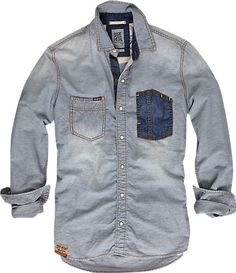 PME Legend Cross stripe shirt