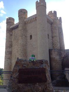 Ando en el castillo de Valencia de Don Juan.