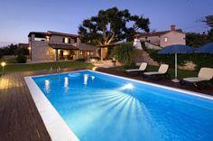 Super Last Minute Angebot! Traumschönes Ferienhaus mit Pool und Fernblick auf das Meer in Istrien, Kroatien