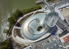 La Cité du Vin wine museum by XTU Architects, Bordeaux - France