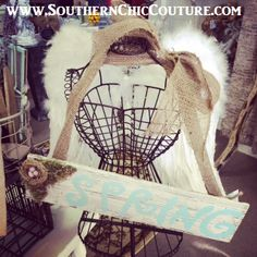 Shabby CHIC angel- Easy to make. Southern Chic Couture.