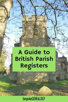 A guide to British Parish Registers. This post looks at the history of this important British genealogy record set as well as where you can find them. Free Genealogy Sites, Genealogy Research, Family Genealogy, Map Of Britain, Genealogy Organization, Organization Ideas, Family Research, Wales Uk, Family History