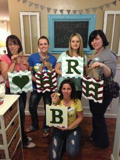 One Thrifty Chick: Oregon Craft Club {girls night}