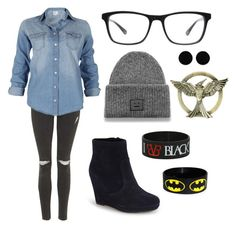 """""""."""" by darkness5 ❤ liked on Polyvore featuring Topshop, Joseph Marc, Acne Studios, Vince Camuto and AeraVida"""