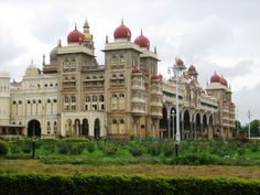 The Palace of Mysore (also known as the Amba Vilas Palace) is a palace situated in the city of Mysore, Karnataka in S. India. It is the official residence of the Wodeyars - the erstwhile royal family of Mysore that ruled the princely state of Mysore for over 7 centuries, & also houses two durbar halls (ceremonial meeting hall of the royal court). The original palace of 14th century was demolished, & constructed multiple times- last expansion was in 1940.