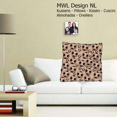 Kissen MWL Design NL 50 x 50 cm  von MWL Design NL Wohndesign und Accessoires  auf DaWanda.com