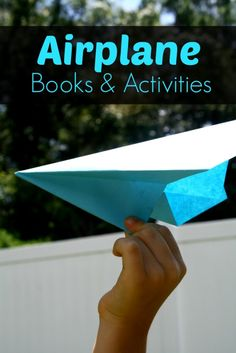 Airplane books and activities...great for first time flyers or any kid who loves airplanes!