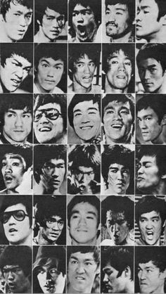 The many faces of Bruce lee