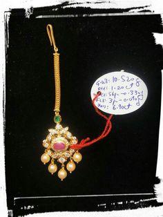 Jewelry Design Earrings, Gold Earrings Designs, Gold Jewellery Design, Gold Hair Accessories, Gold Ring Designs, Gold Jewelry Simple, Bindi